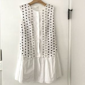 Thakoon Addition white embroidered dress